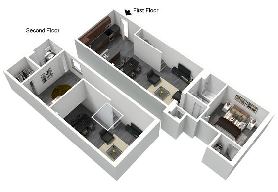 Scott's Edge apartments floor plan