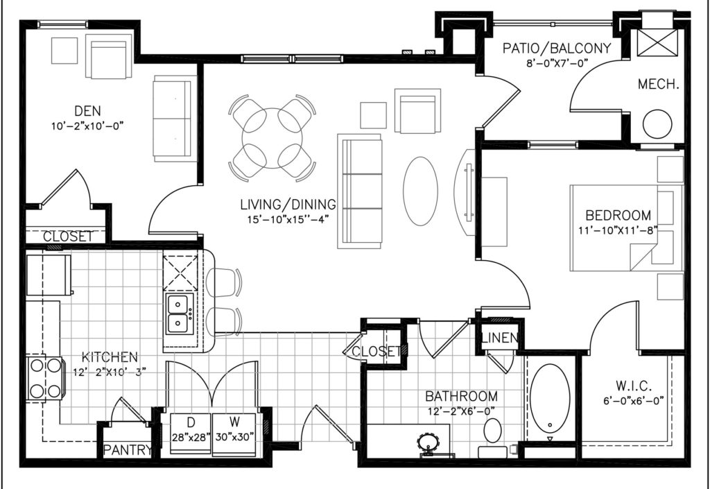 Aura at Towne Place apartments floor plan
