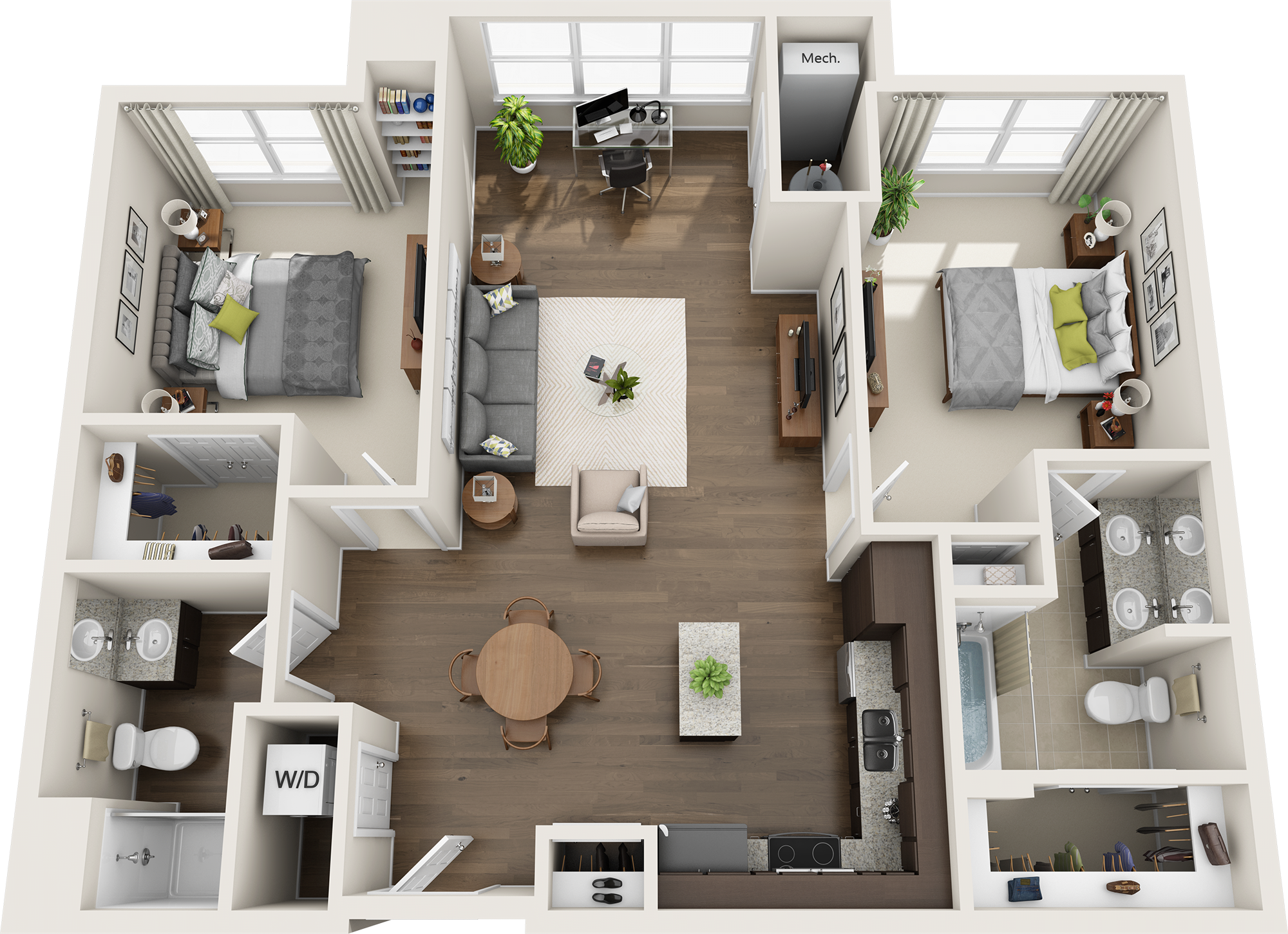 Infinity at Centerville Crossing apartments floor plan