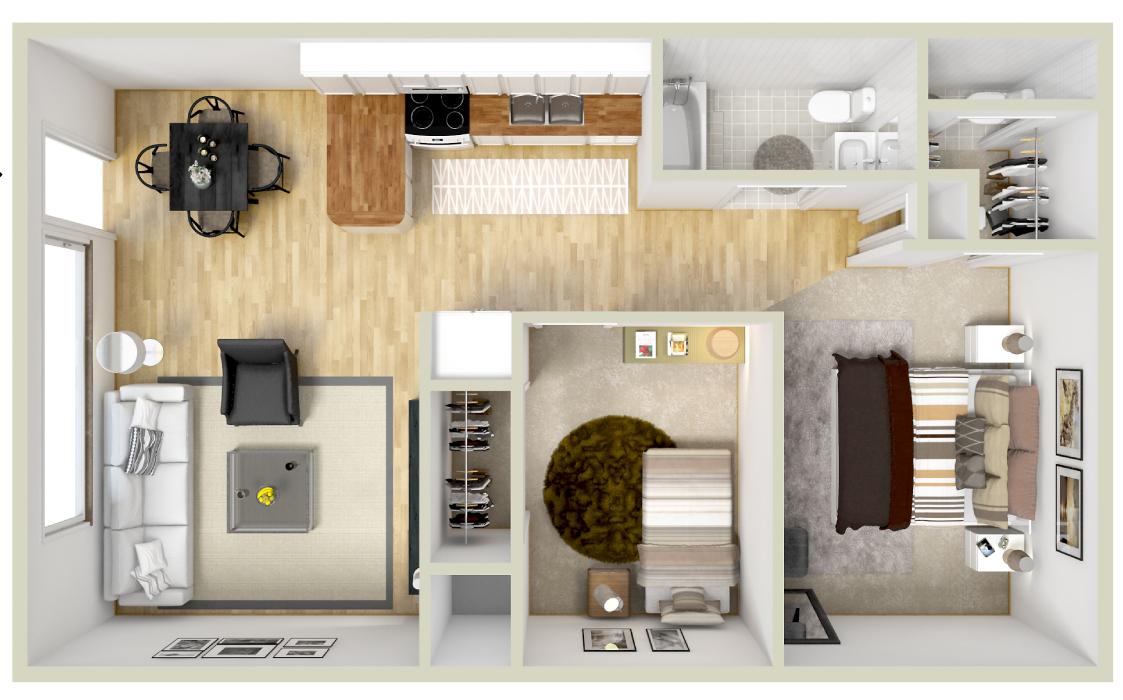 Windsong Apartments floor plan